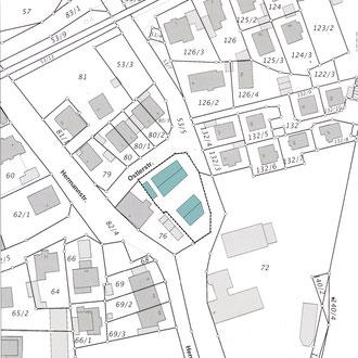Mehrfamilienhäuser Dachau - Plan