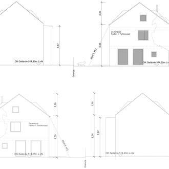 Reihenhäuser Lochhausen - Plan
