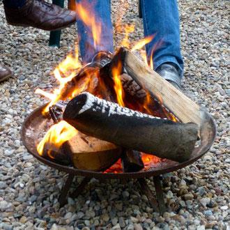 Feuer für´s Wohlbefinden