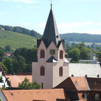 Wohnprojekt Holzapfel Groß-Umstadt Evangelische Stadtkirche