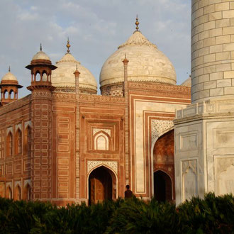 Taj Mahal Agra - Unesco Kulturerbe - Rundreise Rajasthan