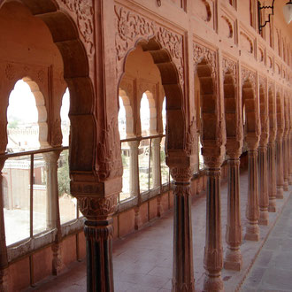 Junagarh Fort in Bikaner Rajasthan