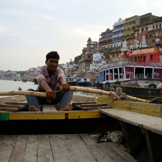 Varanasi - Bootsausflug Ganges