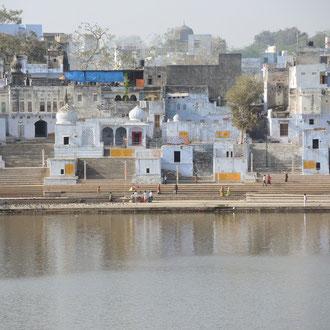 Textile Tour India -Pushkar See - die heilige Ortschaft in Rajasthan