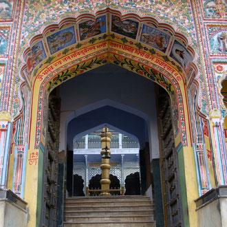 Textile Tour India -Fantastische Malereien in Pushkar