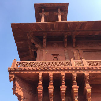 UNESCO Kulturerbe Fatehpur Sikri, auch Ghost Town genannt