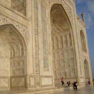 Taj Mahal - UNESCO World Herritage Site  - 6Nächte 7Tages Rundreise Golden Triangle