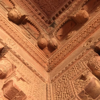 Fatehpur Sikri - oder auch Ghost Town genannt. UNESCO Kulturerbe