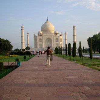 Indien Reisen UNESCO Kulturerbe Taj Mahal