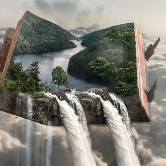 Das Leben ist wie ein Buch