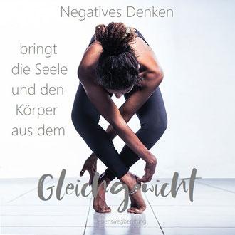 Warum negatives Denken die Seele und den Körper beeinflusst