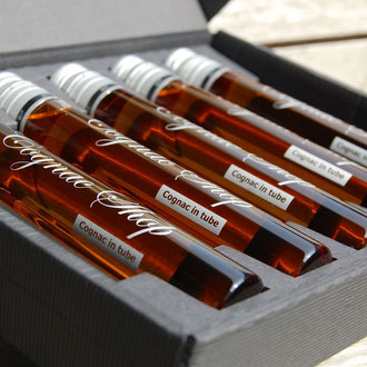 Cognac in tube 5 x 6 cl