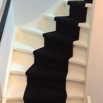 trap woonhuis voor schilderbeurt