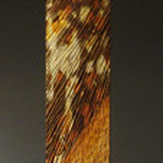 Colonne - chêne oxydé aux acides - h 180 cm - 2009