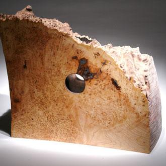"""""""Espace intérieur"""" loupe d'érable - h 45 cm - 2005"""