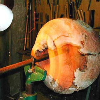 Creusage au tour d'une ronce de manzanita