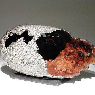 """"""" Cocon orme"""" loupe d'orme - h 55 cm - 2000"""