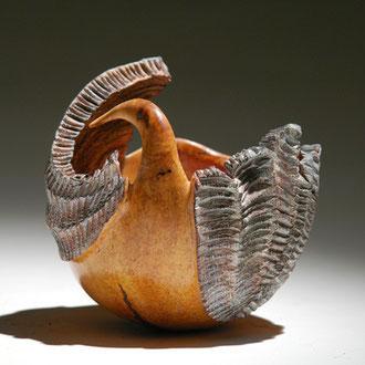 """""""L'envol"""" ronce de bruyère - h 20 cm - 2008"""