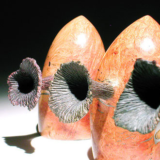 """""""The guardians"""" ronce de bruyère - h 12 à 13 cm - 2005"""