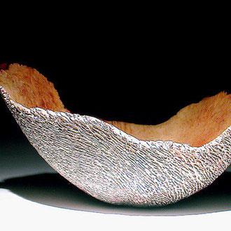 """""""Mue blanche"""" ronce de bruyère - h 16 cm - 2002"""