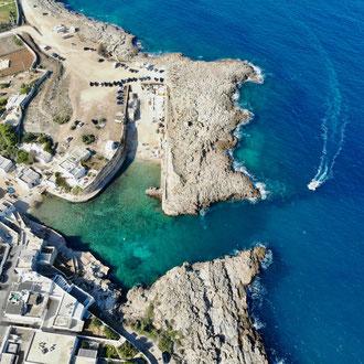 Stellplatz bei Pogliano a Mare
