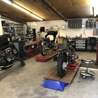 customgarage garage zürich illnau bmw honda yamaha suzuki bmwr80 bmwr100 sandstrahlen pulverbeschichten ultraschallreinigen motorrad
