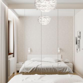 Projekt taniej sypialni