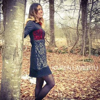 Robe-Hoodie Glamour de Karen Lavertu