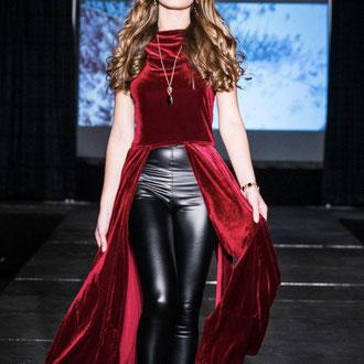 Robe en velour de Violette mode