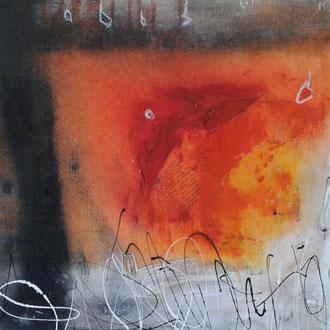 Outback, 2014, Acryl auf Leinwand, 80x60 cm