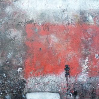 emotion, 2014, Acryl/Lack auf Leinwand, 100x80 cm