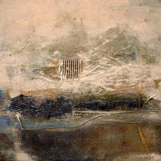 Iceland II, Acryl auf Leinwand, 70x70, 2018
