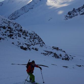 Aufstieg zum Finsteraarhorn