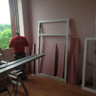 pour la Mairie de la Bridoire, dans l'avant pays savoyard, Rénovation de fenêtres en pvc