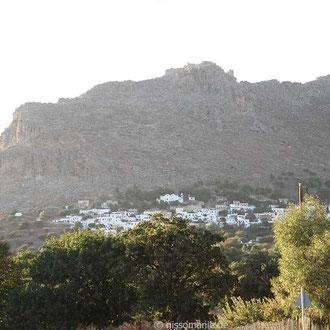 Megalo Chorio und die Akropolis