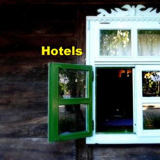 Hotels und Unterkünfte