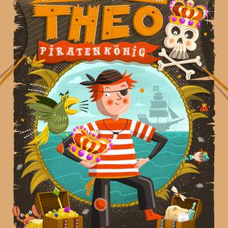 """Edition Nilpferd Verlag, Vorlesebuch ab 5 Jahren """"Theo Piratenkönig"""""""