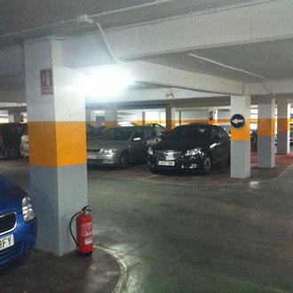 Pintar parking pintar garaje pintor de valencia - Pintura suelo parking ...