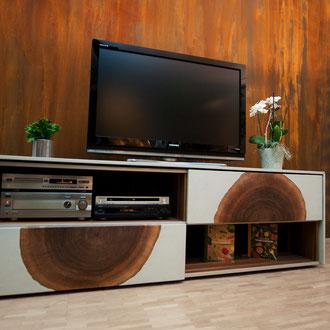 Rost TV kastl Farbe Wand Oxidant Einfach schnell diy