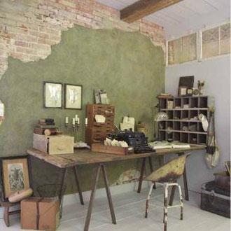 Kreidefarbe Möbel Wand Boden Platten Holz Fliesen krijtverf meubels shabby makkelijk einfach diy streichen  alt neu