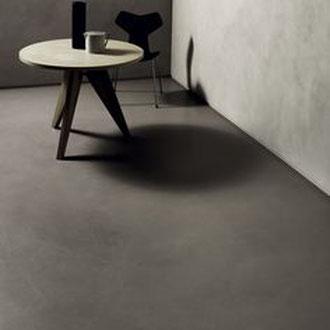 Beton Cire Betonputz Küche bad dusche wand boden möbel oberfläche keuken muur fugenfrei glatt elegant