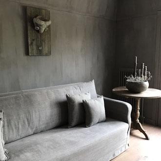 kalkfarbe kalk farbe einfach schnell wand durchlebt alt neu vintage landhaus interior