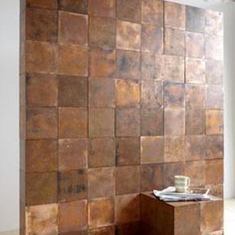 Metall putz gold bronze silber rost küche Keuken wohnen wonen statement charakter interior architektur luxus elegant robust wand