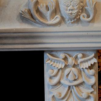 Cheminée en tuffeau, Musée des Métiers