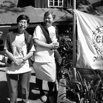 Tita Genie and Tita Myrna from the Philippines
