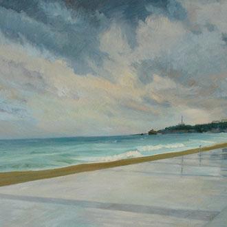 Storm in Biarritz. *