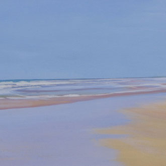 Chiclana. 90x40cm. Acrylic on canvas.