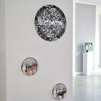 Impressionen zu heim+heimat – SABINE KÜRZEL EXHIBIT 2018, RUBRECHTCONTEMPORARY galerie, Wiesbaden