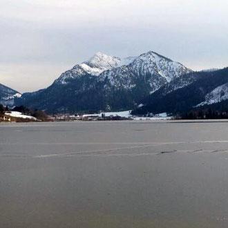 Seeblick im Winter