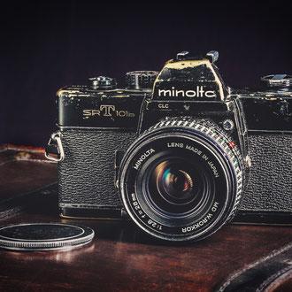 Meine erste Spiegelreflex - eine Minolta SRT 101b